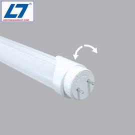 LED Tube 20w 1.2m nhôm nhựa (đuôi xoay)